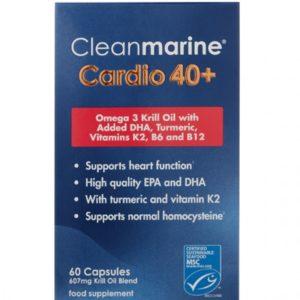 Cleanmarine® Cardio 40+ - 60 Caps